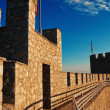 Stock Photo: The fortress of emperor Samuil in Ohrid, Macedonia