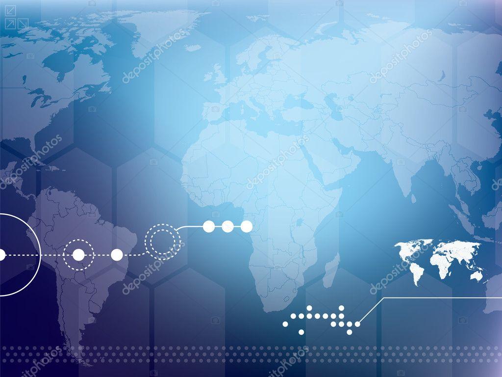 Technology Background Vector — Stock Vector © Cifotart ...