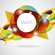 Abstract motion graphic background. — Stock Vector