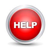Help button — Stockvektor