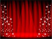 Theatre stars — Stock Vector