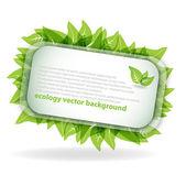 Экология абстрактный фон — Cтоковый вектор