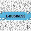 E-business — Stock Vector