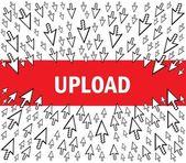 Upload — Stock Vector