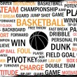 basketbal tags — Stockvector  #6170852