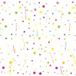 Confetti background - Stok Vektr
