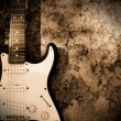 Grunge guitar — Stock Photo #6253312
