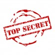 Top secret - rubber stamp vector - Stock Vector