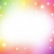 Colorful abstract halftone background. — Stock Vector