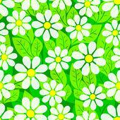 Vegetative seamless background. — Stock Vector