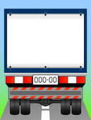 Freight transport. — Stock Vector