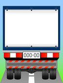 Freight transport. — Stock Vector