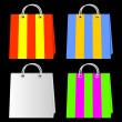 Bags for purchases. — Stock Vector