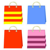 Color bags. — Stock Vector
