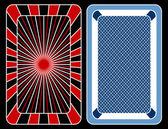 Karten spielen. — Stockvektor
