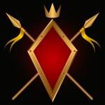 Heraldic composition. — Stock Vector #5957563