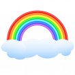 Rainbow. — Stock Vector #6072462