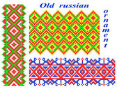 Old Russian ornaments. — Stock Vector