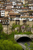 Old Bulgarian city — Stock Photo