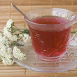 Achillea millefolium tea — Stock Photo