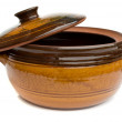 Stock Photo: Clay pot
