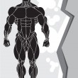 Royalty-Free Stock Vector: Strong man