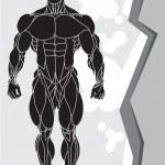 Strong man — Stock Vector