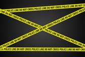 Police Investigation — Stock Vector