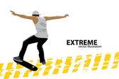 Skater — Stock Vector