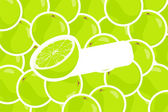 Ripe lime — Stock Vector