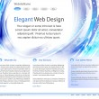 Royalty-Free Stock Векторное изображение: Fresh web site design template - vector