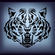 Vector tribal tiger — Stock Vector #5715566