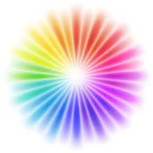 Vector abstract rainbow background — Stock Vector