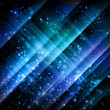 Abstract blue backgrounds - vector - Stockvectorbeeld