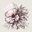 Vector flower design - Image vectorielle