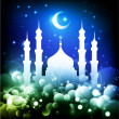 Ramadan muslim background - Stock Vector