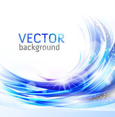 Vector awesome abstract blue background — Stock Vector