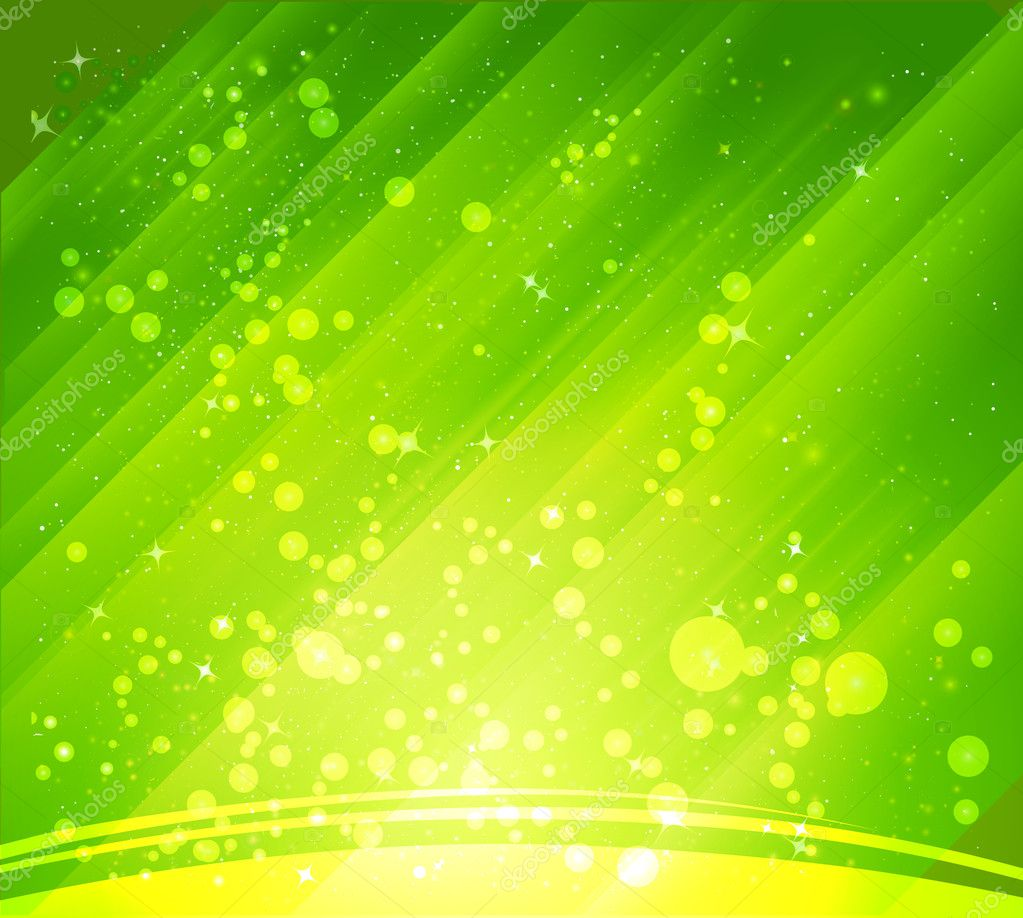 Yellow Green Vector Background