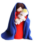 Saint Mary and baby Jesus — Stock Photo