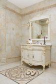 Modern bathroom - home interior — Stock Photo