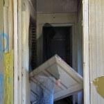 Haunted hallway — Stock Photo