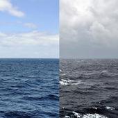 Temporadas de paisaje marino — Foto de Stock
