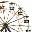 Ferris wheel in amusement park - Stock fotografie