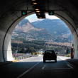 Motorway tunnel — Stock Photo