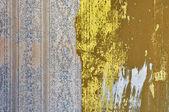 Impronta di foglie — Foto Stock