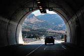 Dálniční tunel — Stock fotografie