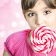 Girl with lollipop — Stock Photo #5470361