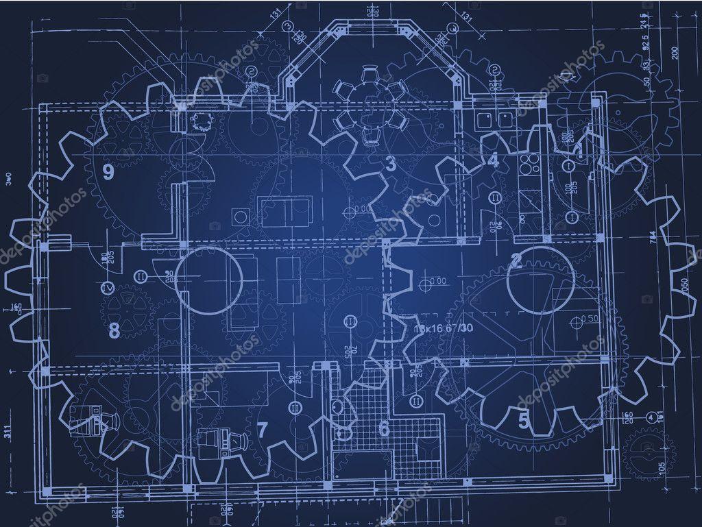 Blueprint Stock Vector 169 Hitdelight 5590141