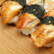Eel sushi — Stock Photo #6095225