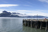 Harbor in Valdez — Stock Photo